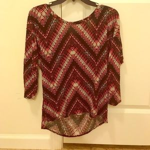 Stretchy-Colorful blouse